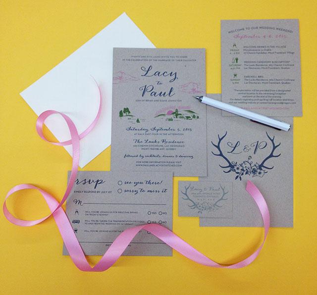 Kid Icarus Custom Wedding Invitations!