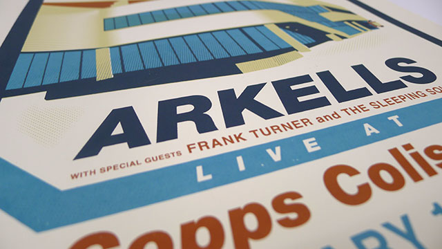 Arkells for Copps Coliseum Posters