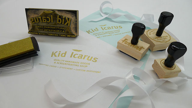 Make Your Own Custom Stamp With Kid Icarus
