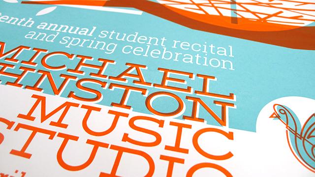 Posters for Michael Johnston Music Studio