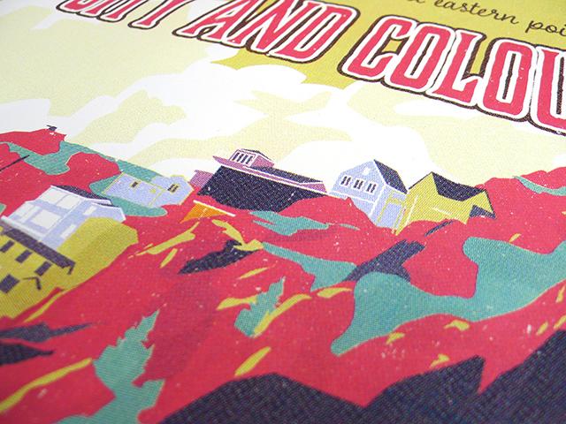 Posters for City & Colour's 2017 Tour Pt. 2