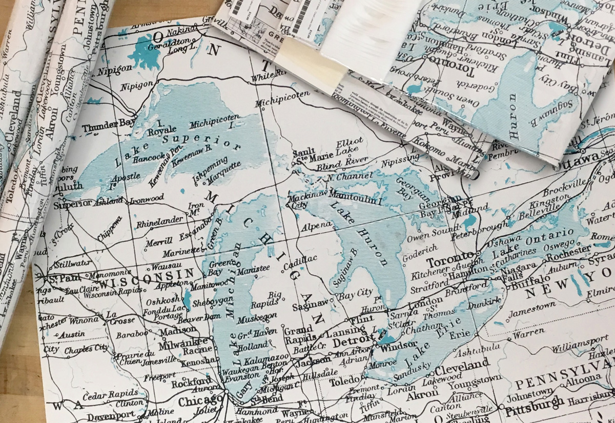 Great Lakes Wrapping Paper