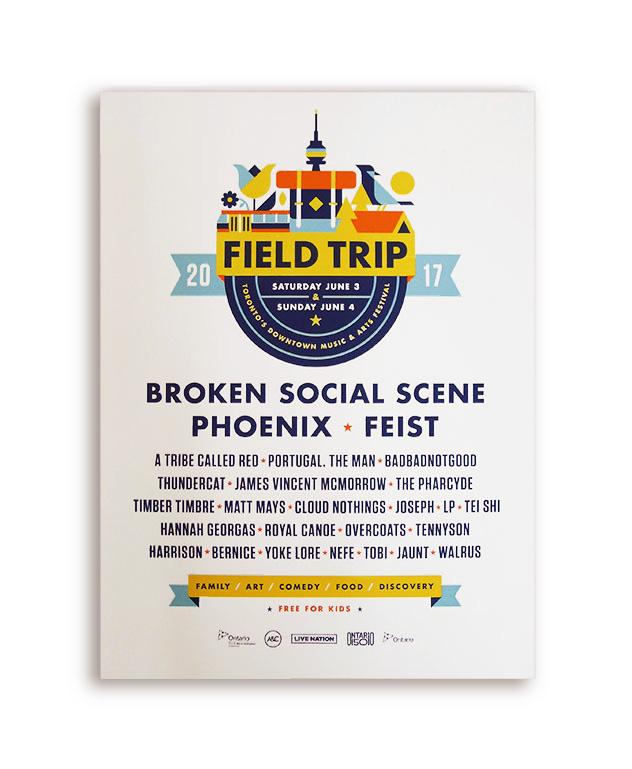2017 Field Trip Posters