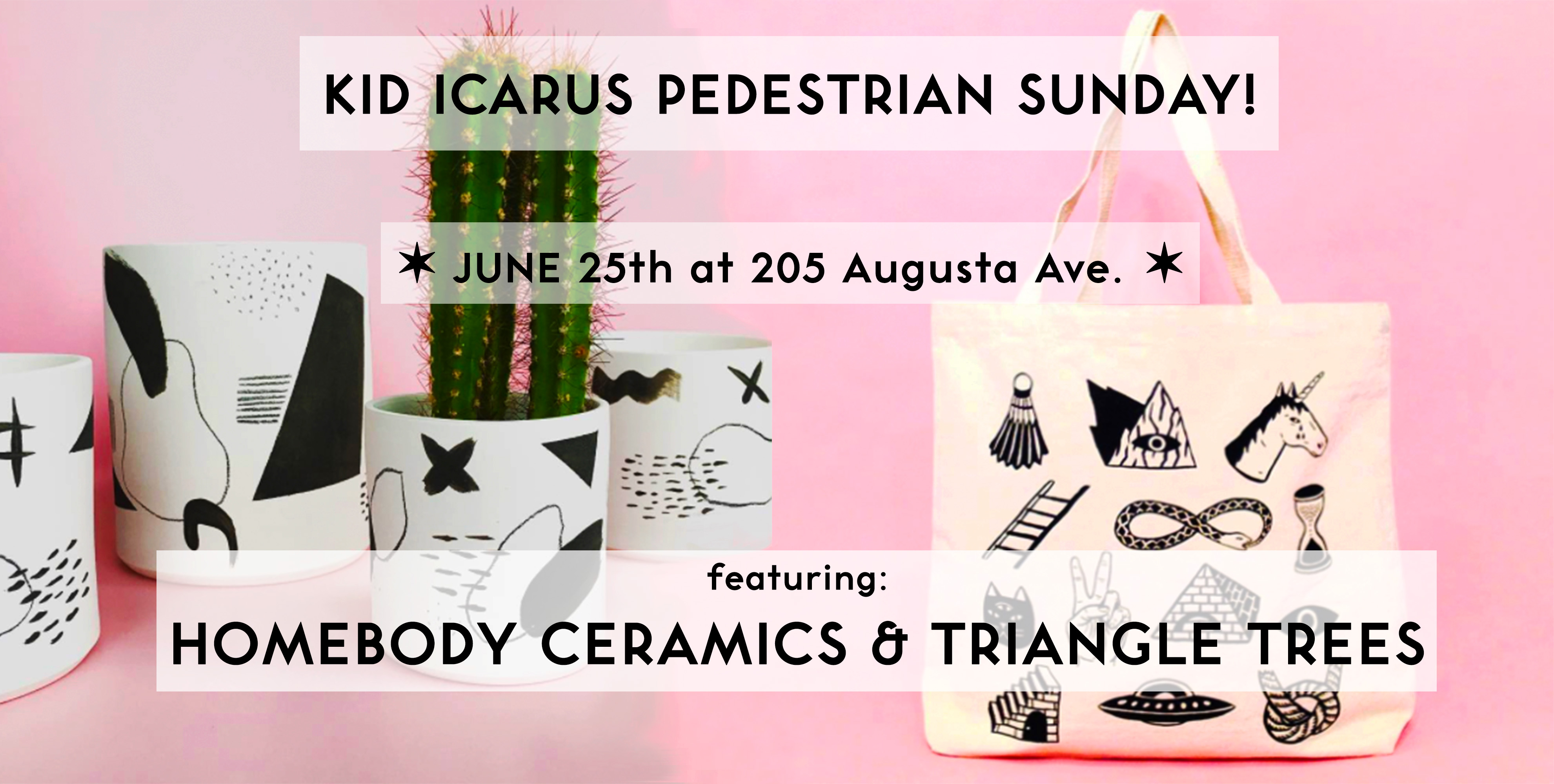 June 25th Pedestrian Sunday!