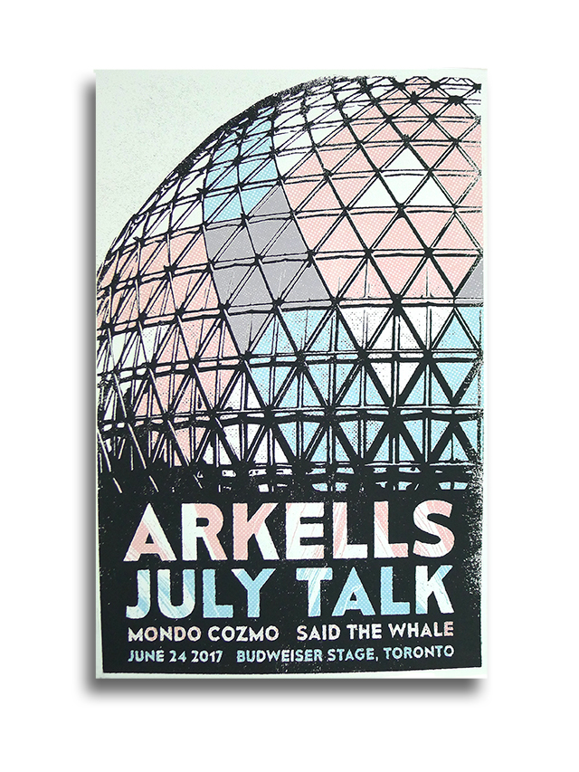 Posters for The Arkells!