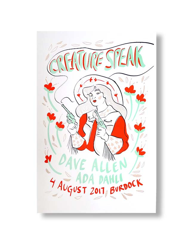 Creature Speak Prints designed by Brittany Brooks