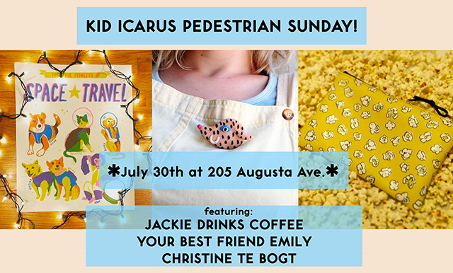 KID ICARUS PEDESTRIAN SUNDAY! July 30th
