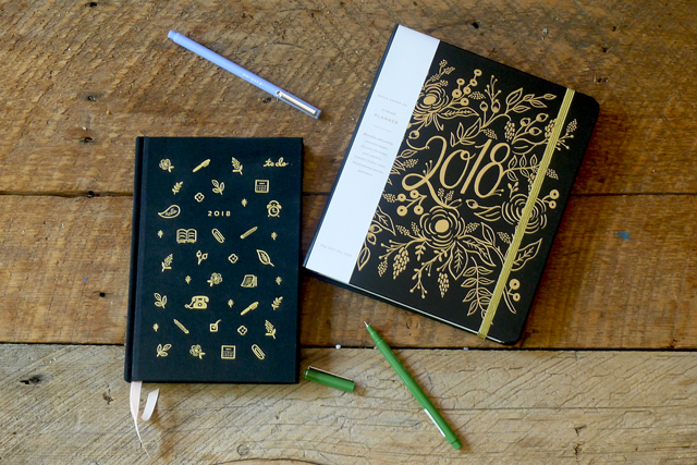 Calendars and Planners 2018!