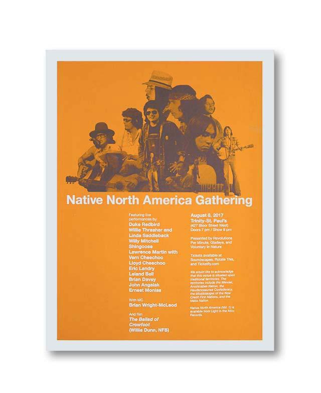 Prints for Native North America Gathering by Alex Rhek