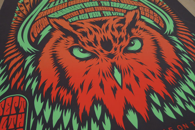 Night Owl Festival Posters
