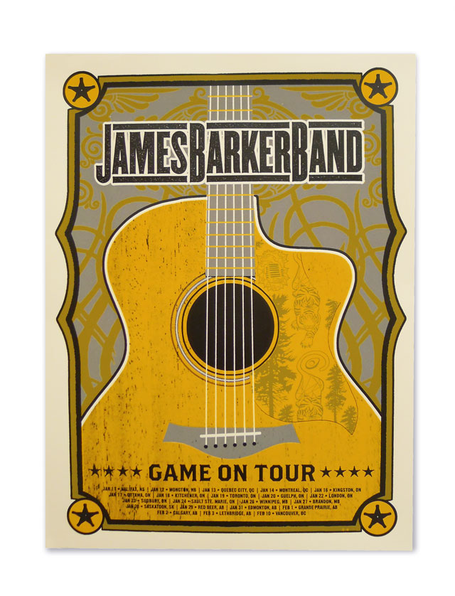 James Barker Band Posters