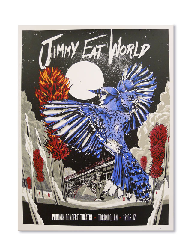 Limited Edition Jimmy Eat World Poster!