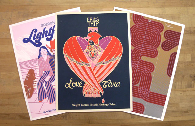 Slaight Family Polaris Heritage Prize Posters!