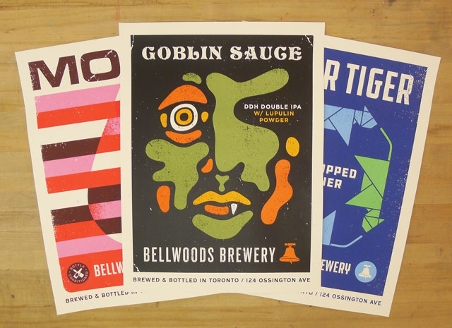 New Bellwoods Brewery Designs