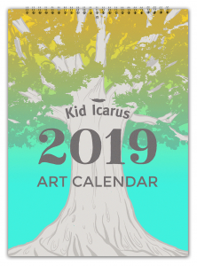 Kid Icarus 2019 Calendar