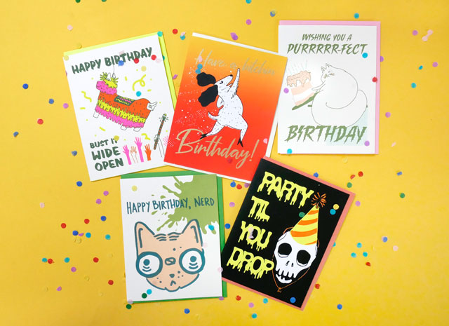 New Kid Icarus Birthday Cards