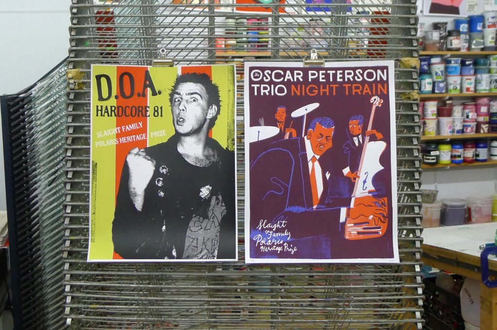 Polaris Heritage Prize 2019 - DOA for album Hardcore 81 and The Oscar Peterson Trio for the album Night Train