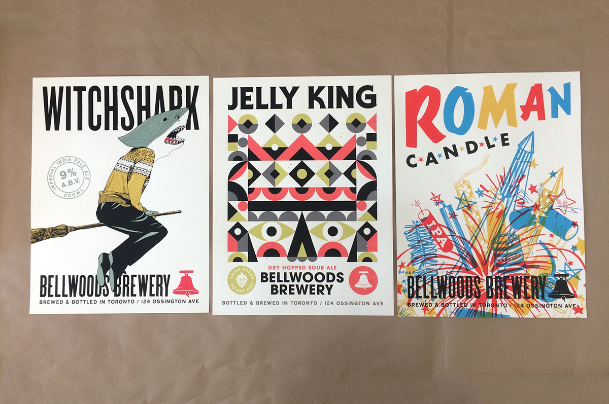 Bellwoods Brewery Posters
